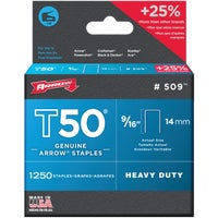 Arrow T50 Heavy-Duty Staple, 50924