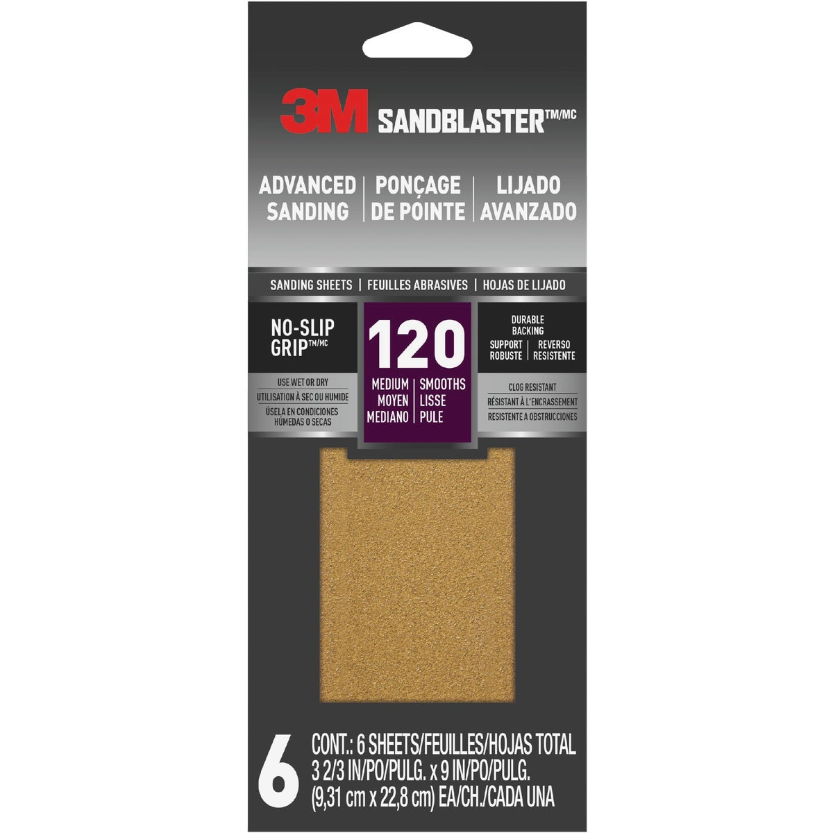 120 GRIT SANDPAPER - 11120-G by 3m Co