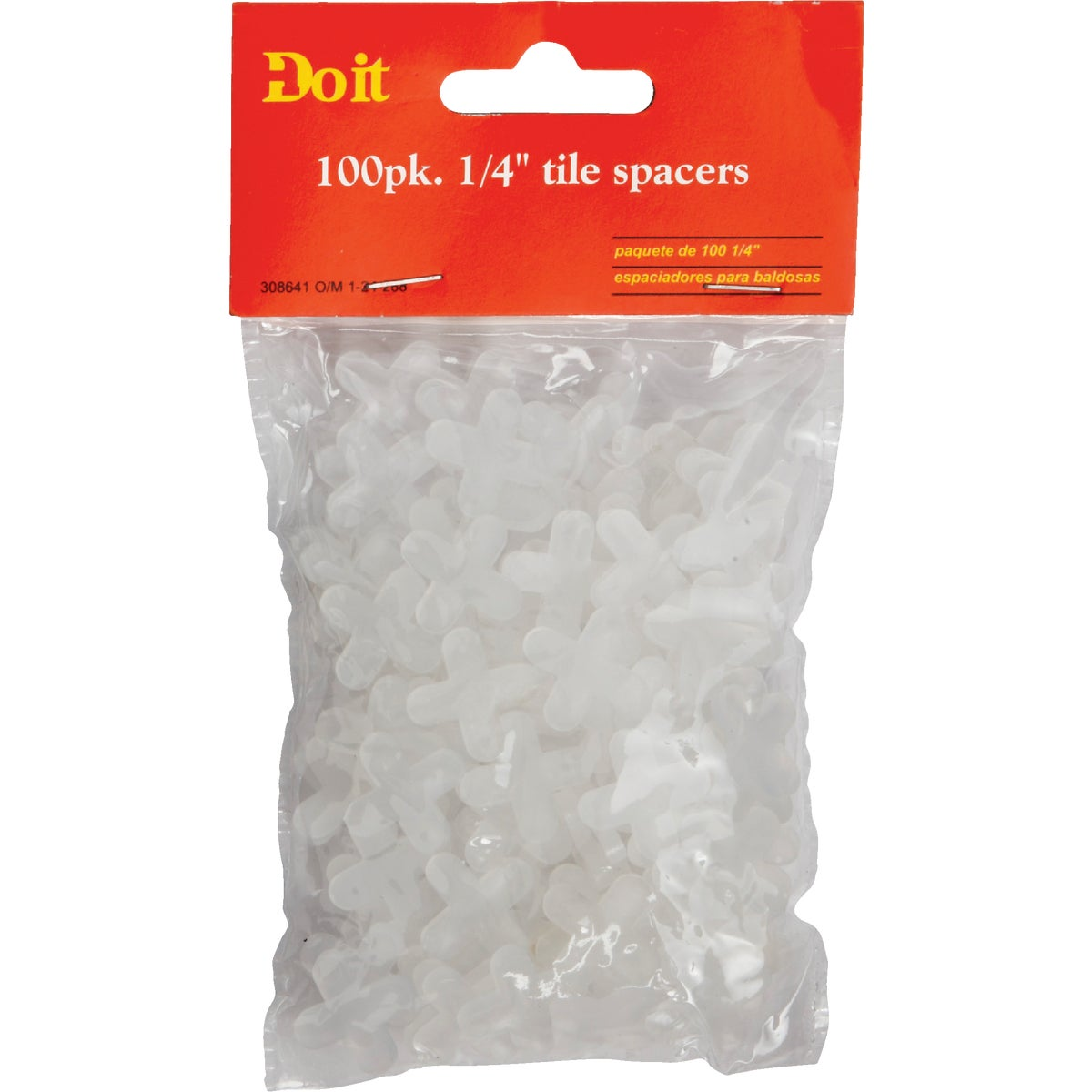 "1/4"" TILE SPACERS - 308641 by Do it Best"
