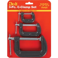 3Pc C-Clamp Set