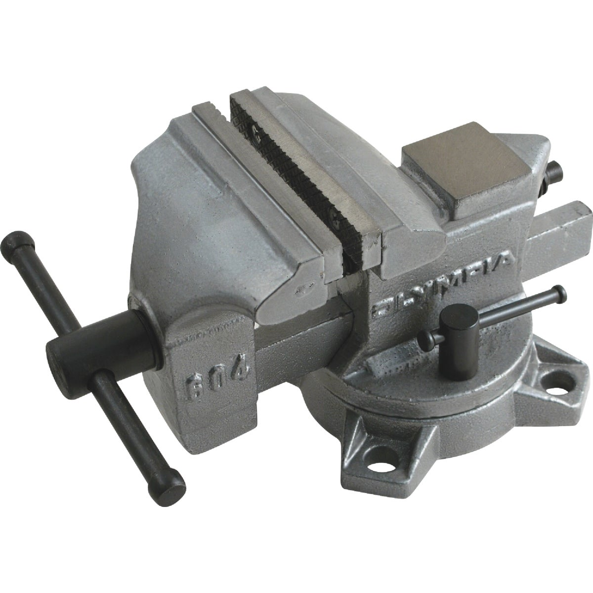 "4"" WORKSHOP BENCH VISE - 38-604 by Olympia Tools"