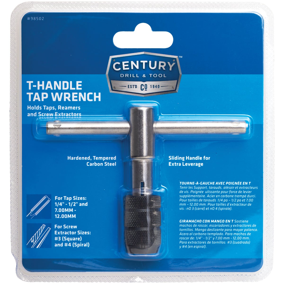 Tr-2E T-Handl Tap Wrench