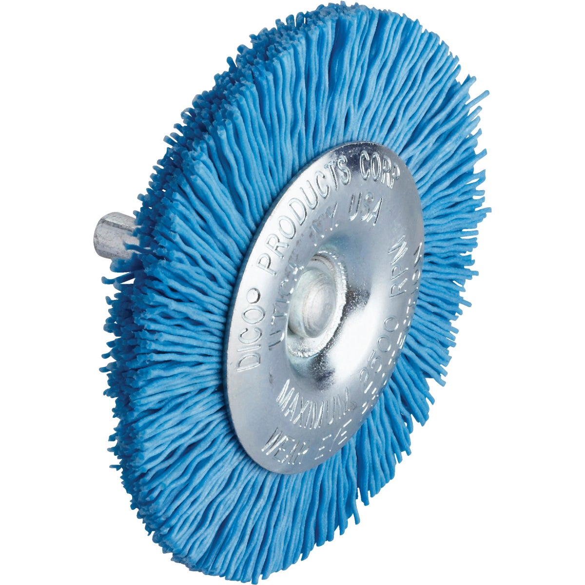 "3"" FINE WHEEL BRUSH - 541783-3 by Dico Products Corp"