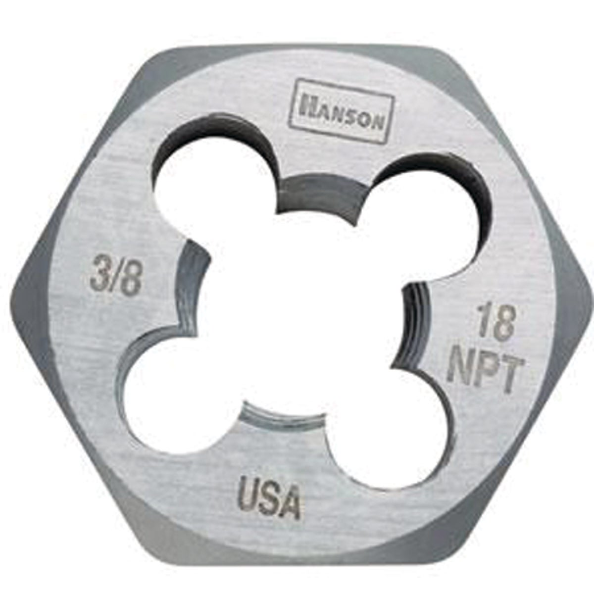 3/8X18 HEXAGON PIPE DIE - 7004 by Irwin Industr Tool