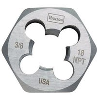 Vermont American 3/8X18 HEXAGON PIPE DIE 7004