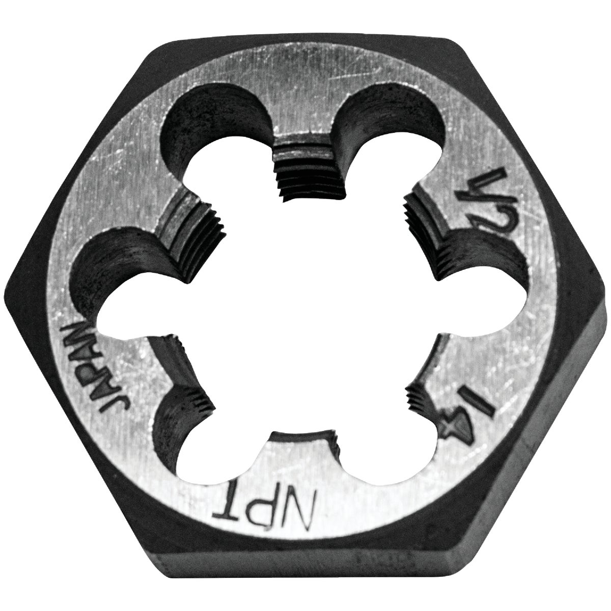 1/2X14 HEXAGON PIPE DIE - 7005 by Irwin Industr Tool