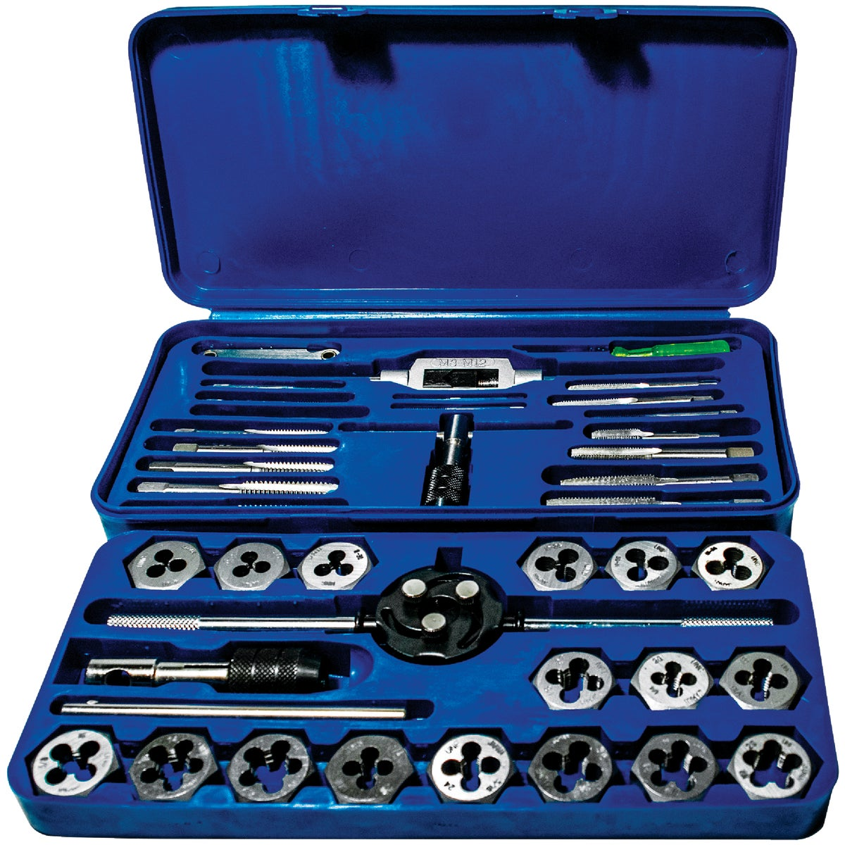 41PC TAP & DIE - 24606 by Irwin Industr Tool