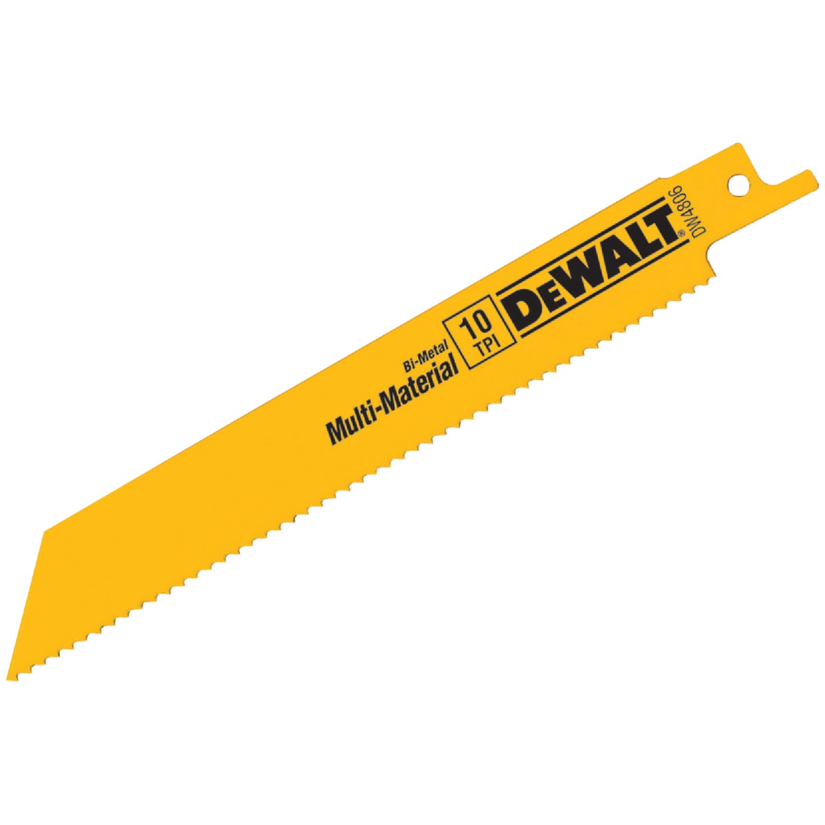 "6"" 10T RECIP BLADE - DW4806 by DeWalt"