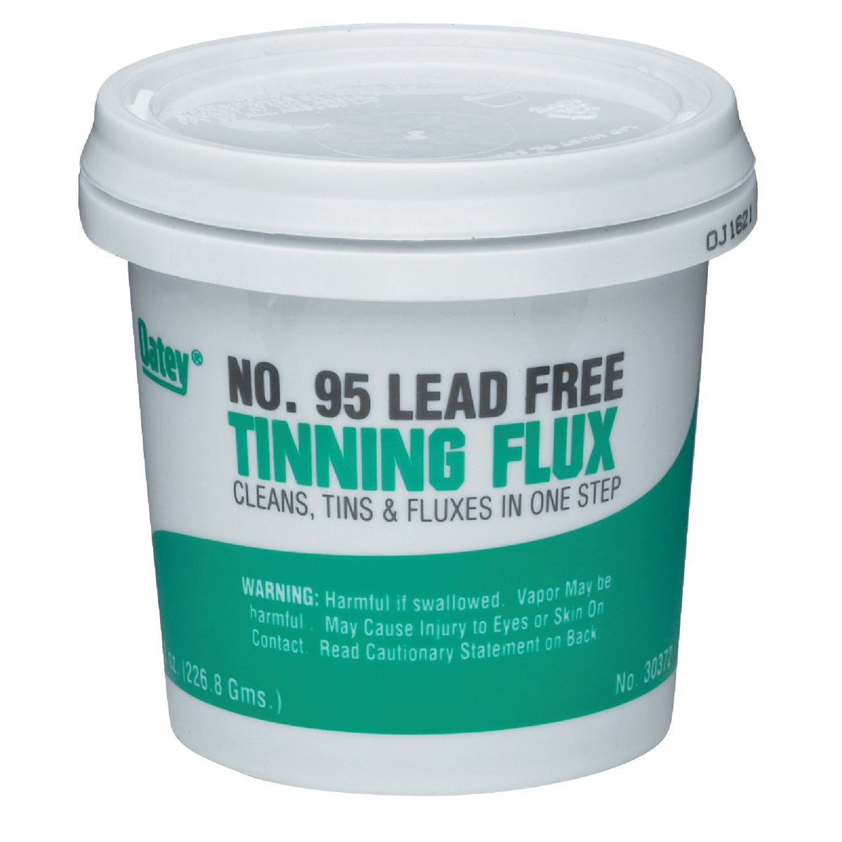 8OZ #95 LEAD FREE FLUX - 30372 by Oatey S C S