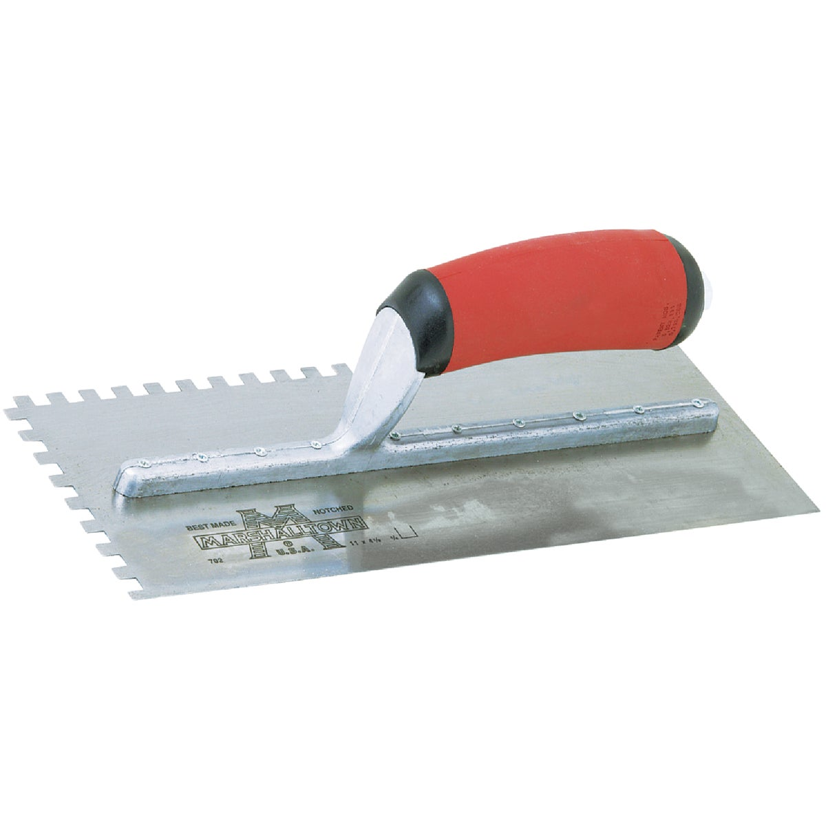 702SD NOTCHED TROWEL - 15709 by Marshalltown Trowel