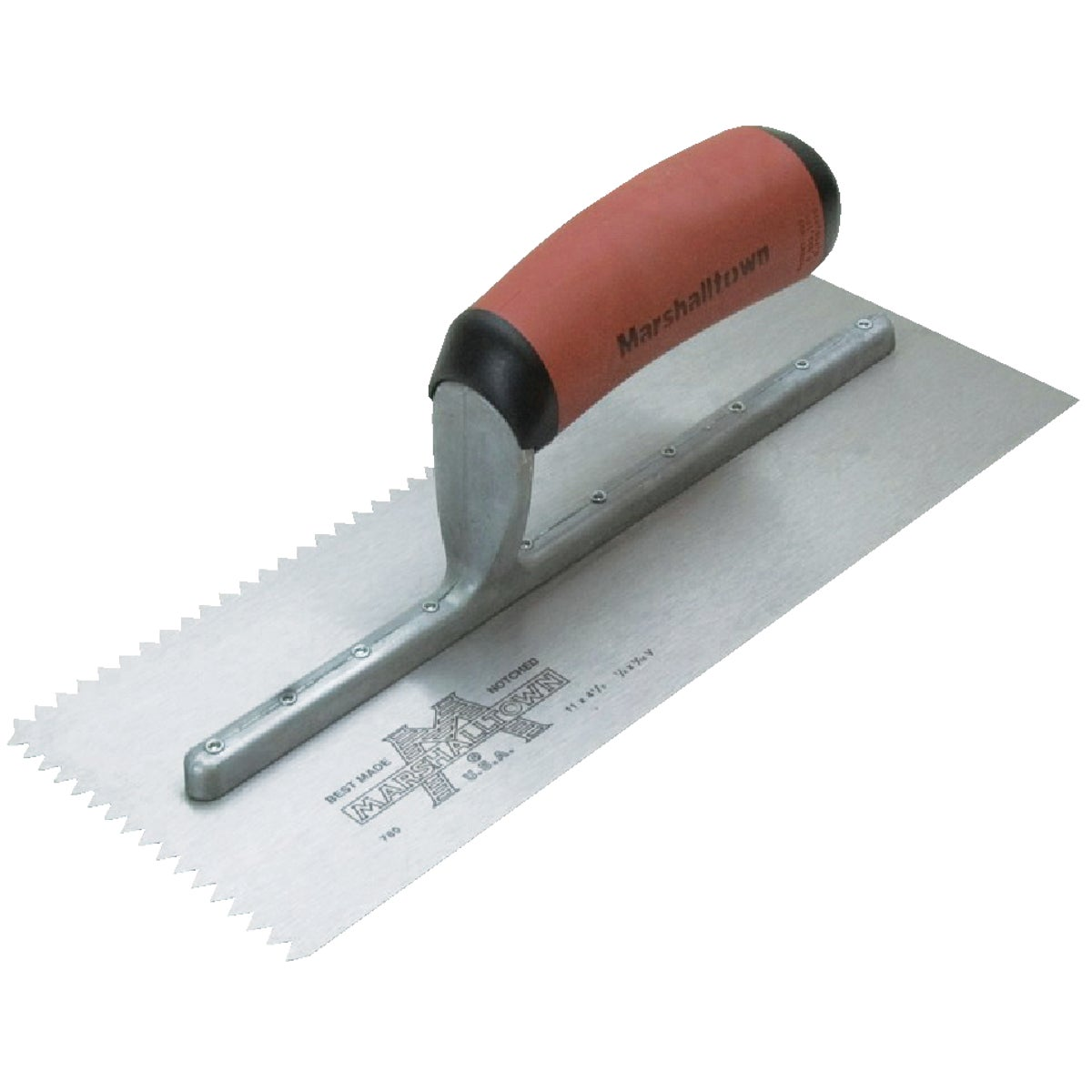 780SD NOTCHED TROWEL - 15808 by Marshalltown Trowel