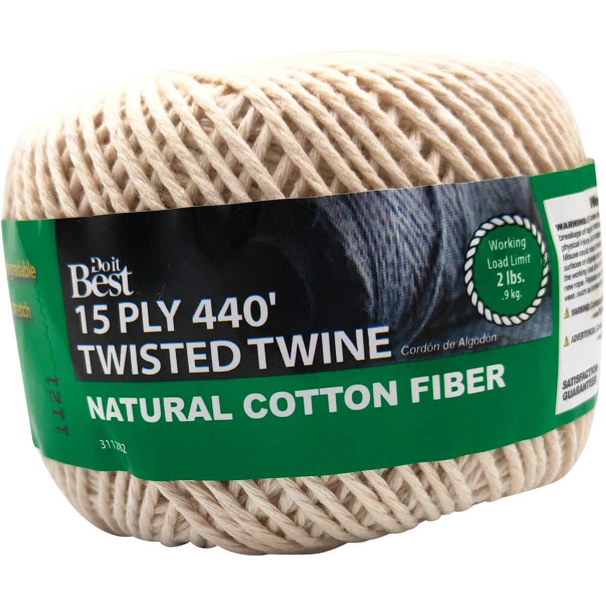 8OZ #15 BALL COTTON CORD - 311282 by Do it Best