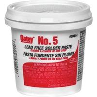 Do-It/Oatey 8OZ#5 LD FREE FLUX PASTE 30014