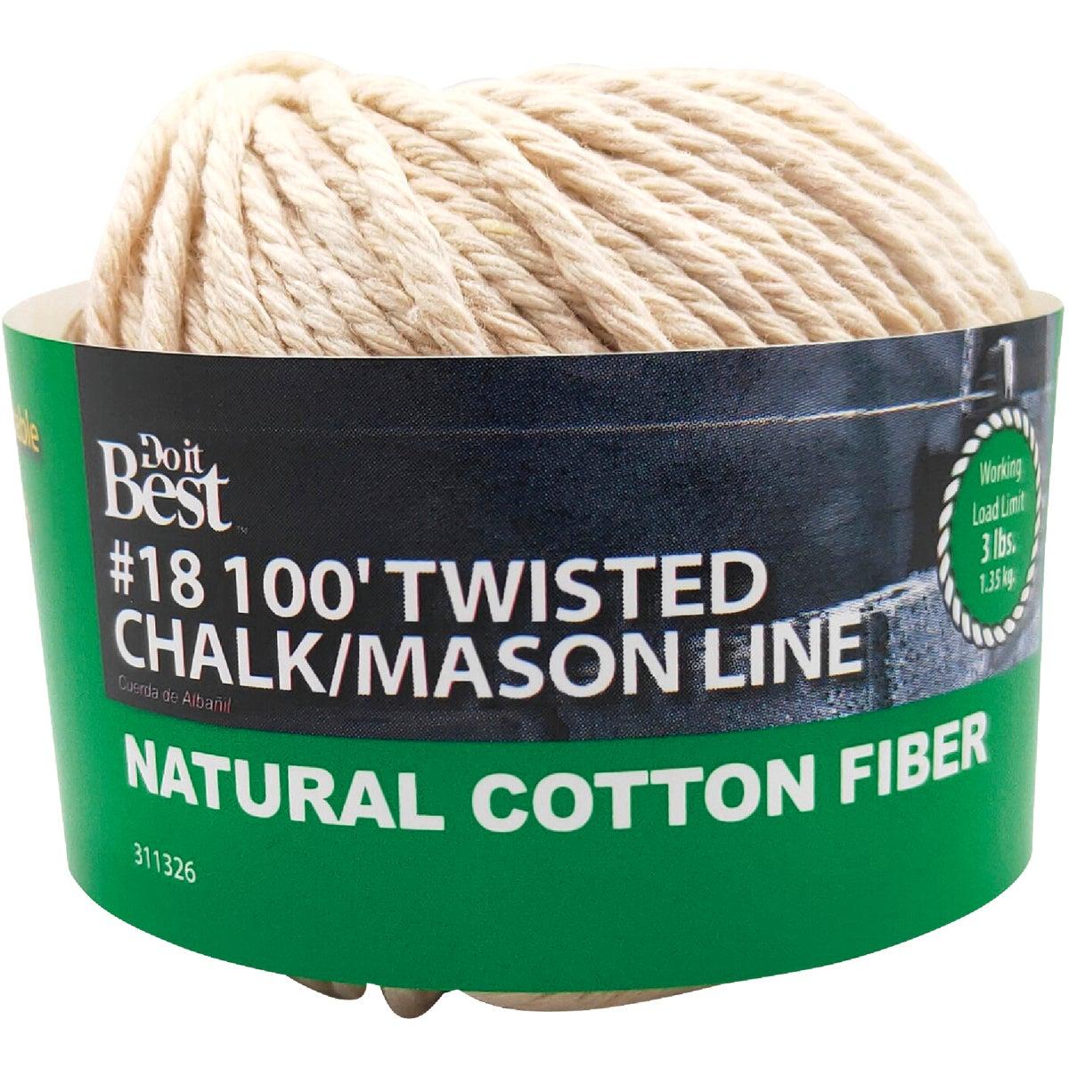100' CHALK & MASON LINE