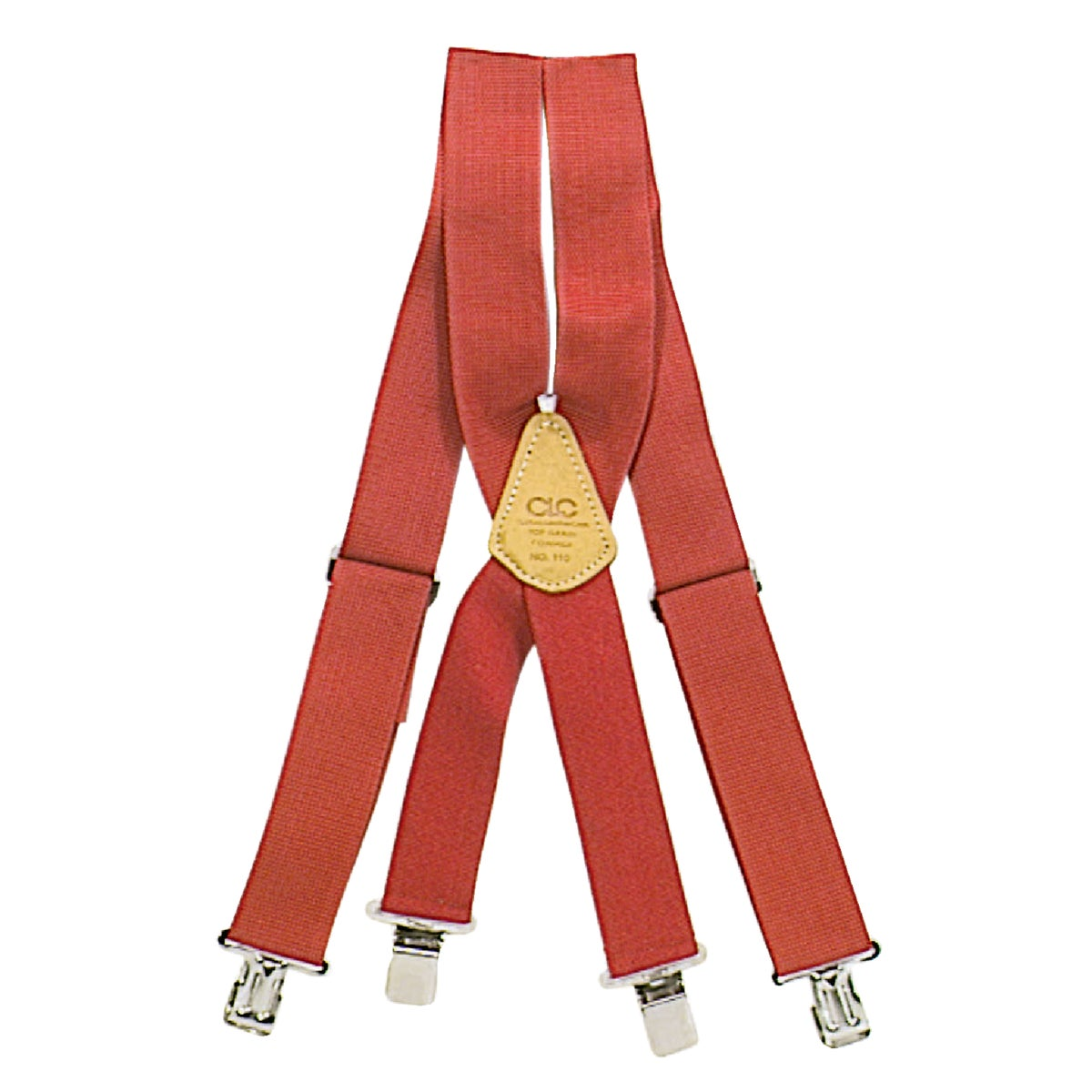RED SUSPENDERS - 110R by Custom Leathercraft