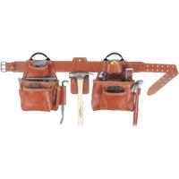 Custom Leathercraft 17-POCKET LEATHER APRON 21449