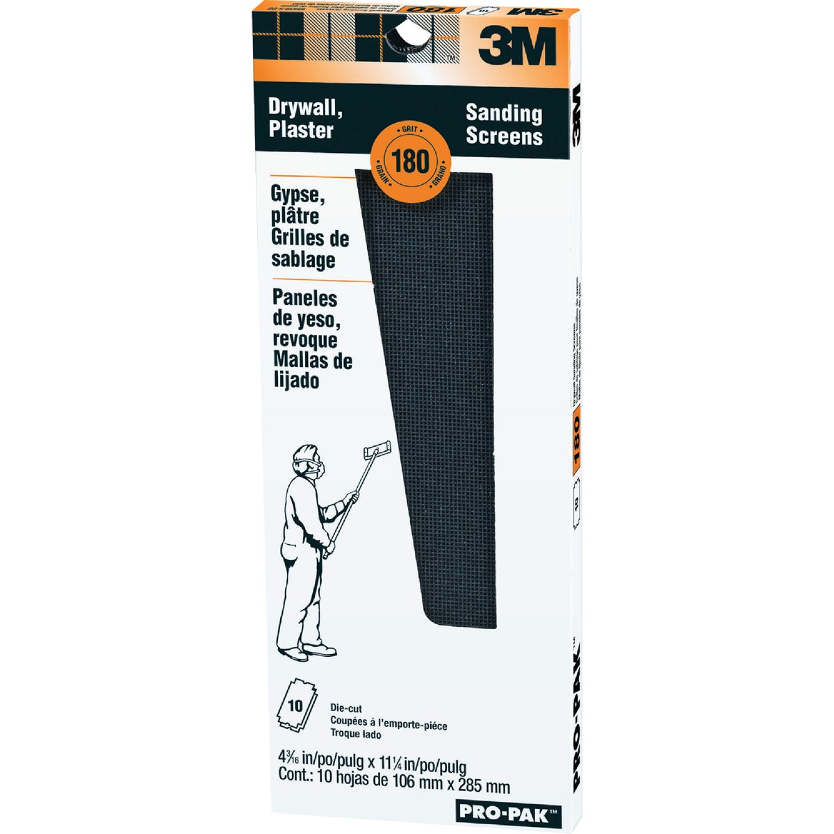 180G DRYWALL SCREEN - 99439NA by 3m Co
