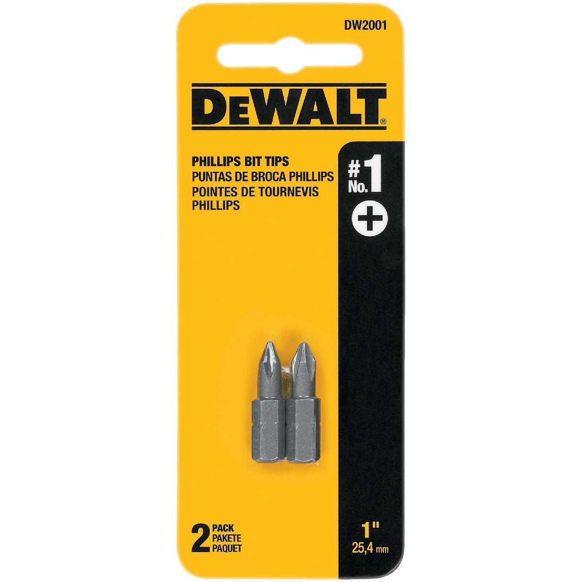 "#1 1"" PHIL INSERT BIT - DW2001 by DeWalt"