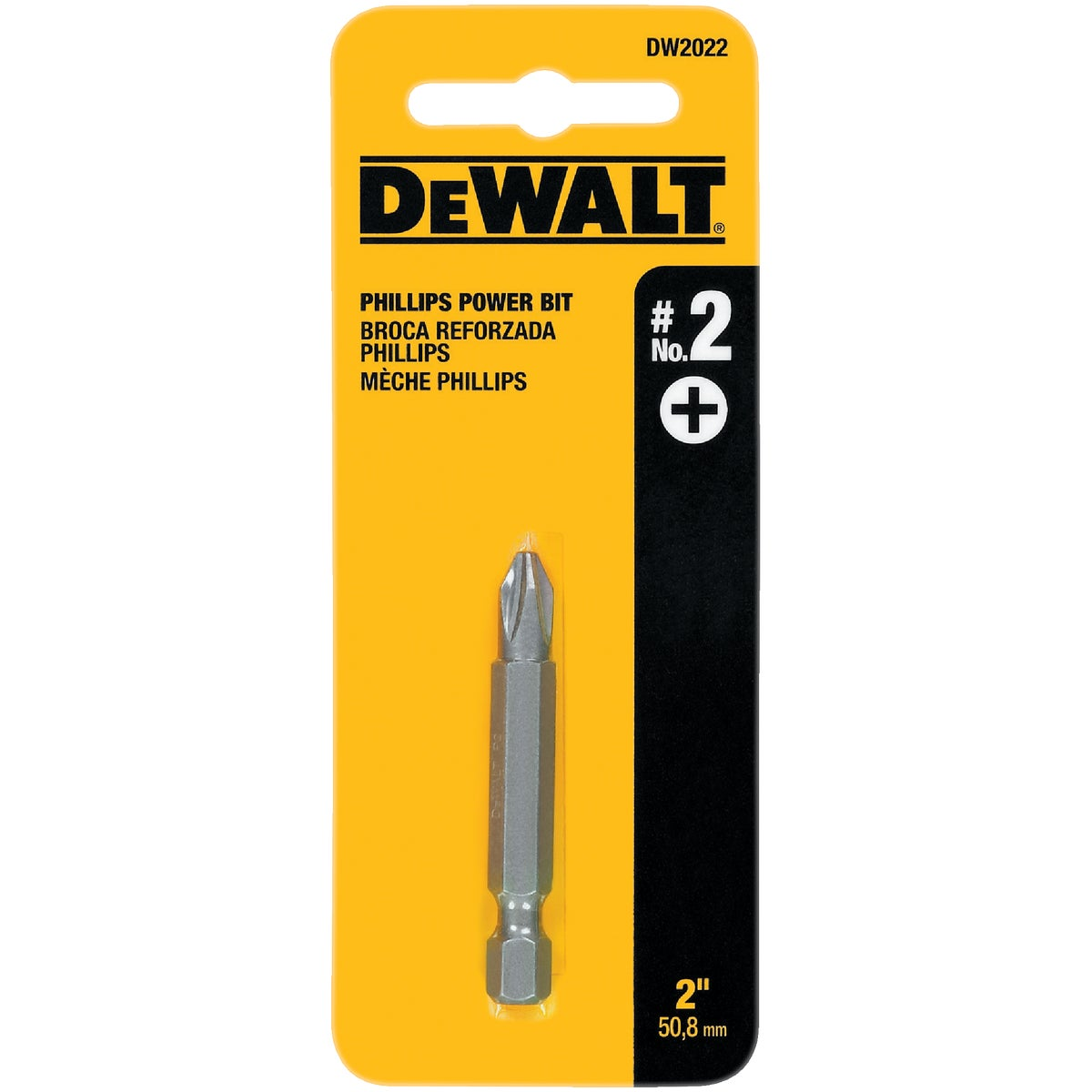 "#2 2"" PHIL POWER BIT - DW2022 by DeWalt"