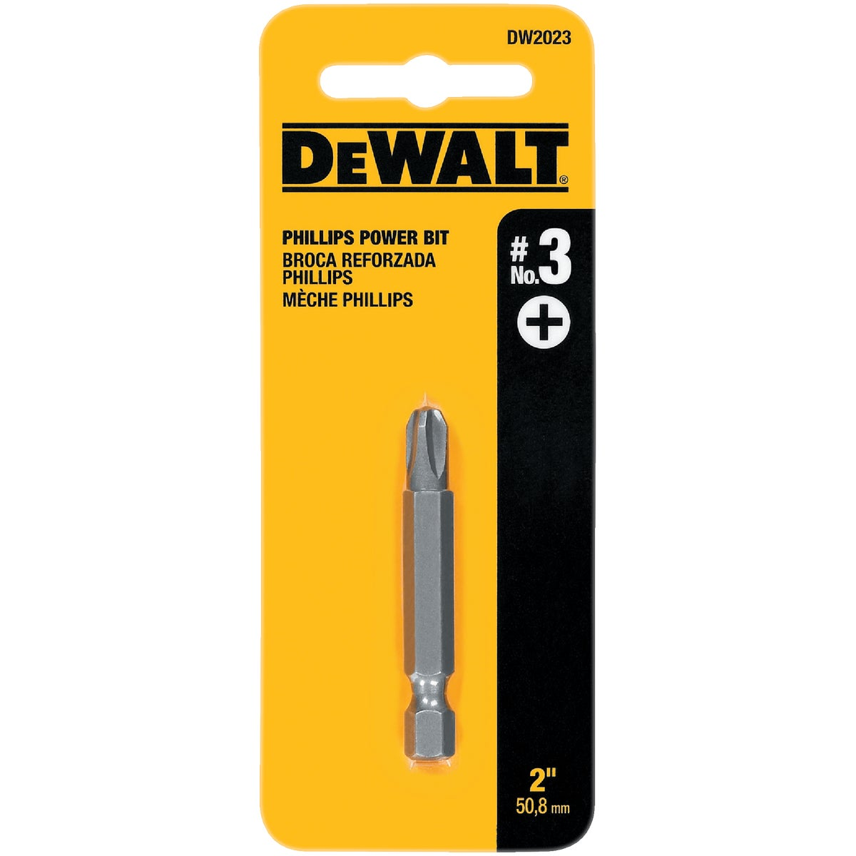 "#3 2"" PHIL POWER BIT - DW2023 by DeWalt"