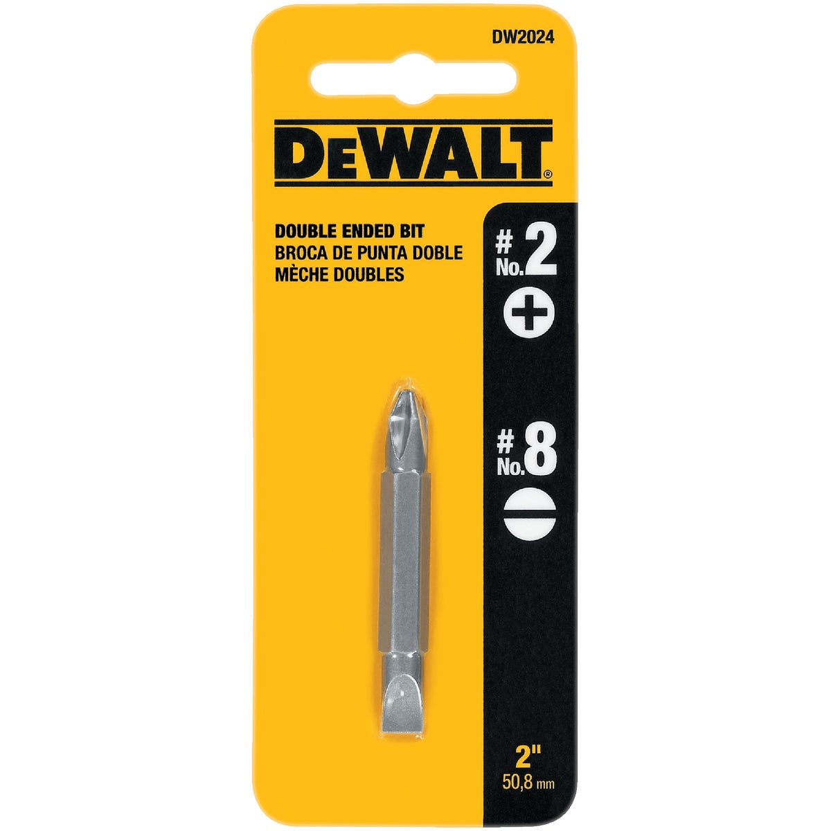 "2"" PHIL/SLTD BIT - DW2024 by DeWalt"