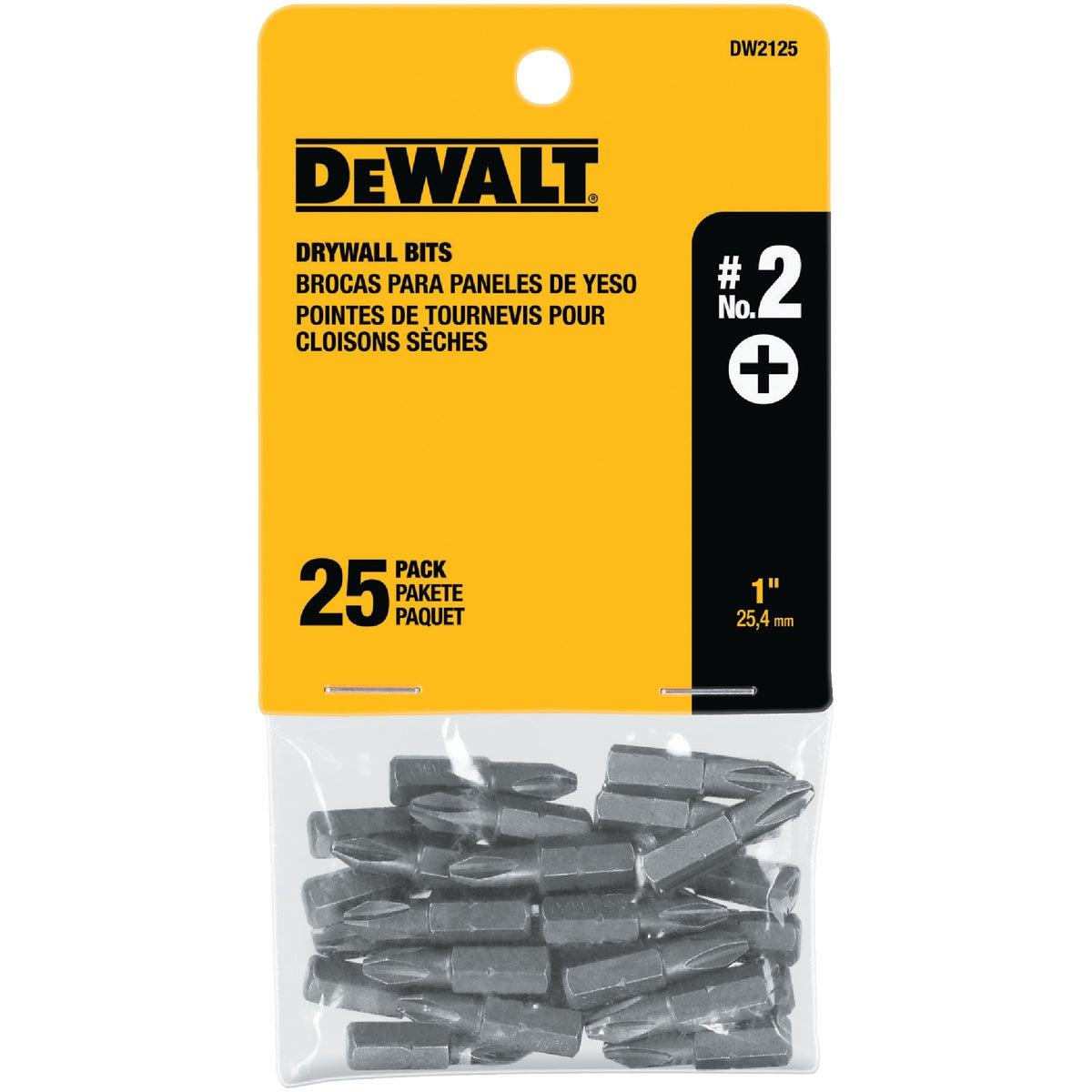 25PC DRYWALL BIT SET - DW2125 by DeWalt
