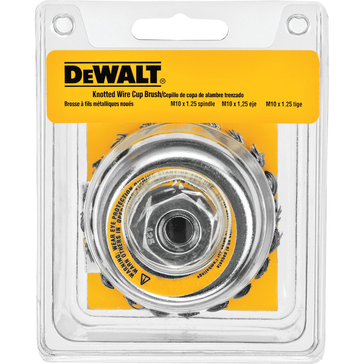 """4"""" KNOTTED CUP BRUSH - DW4916 by DeWalt"""