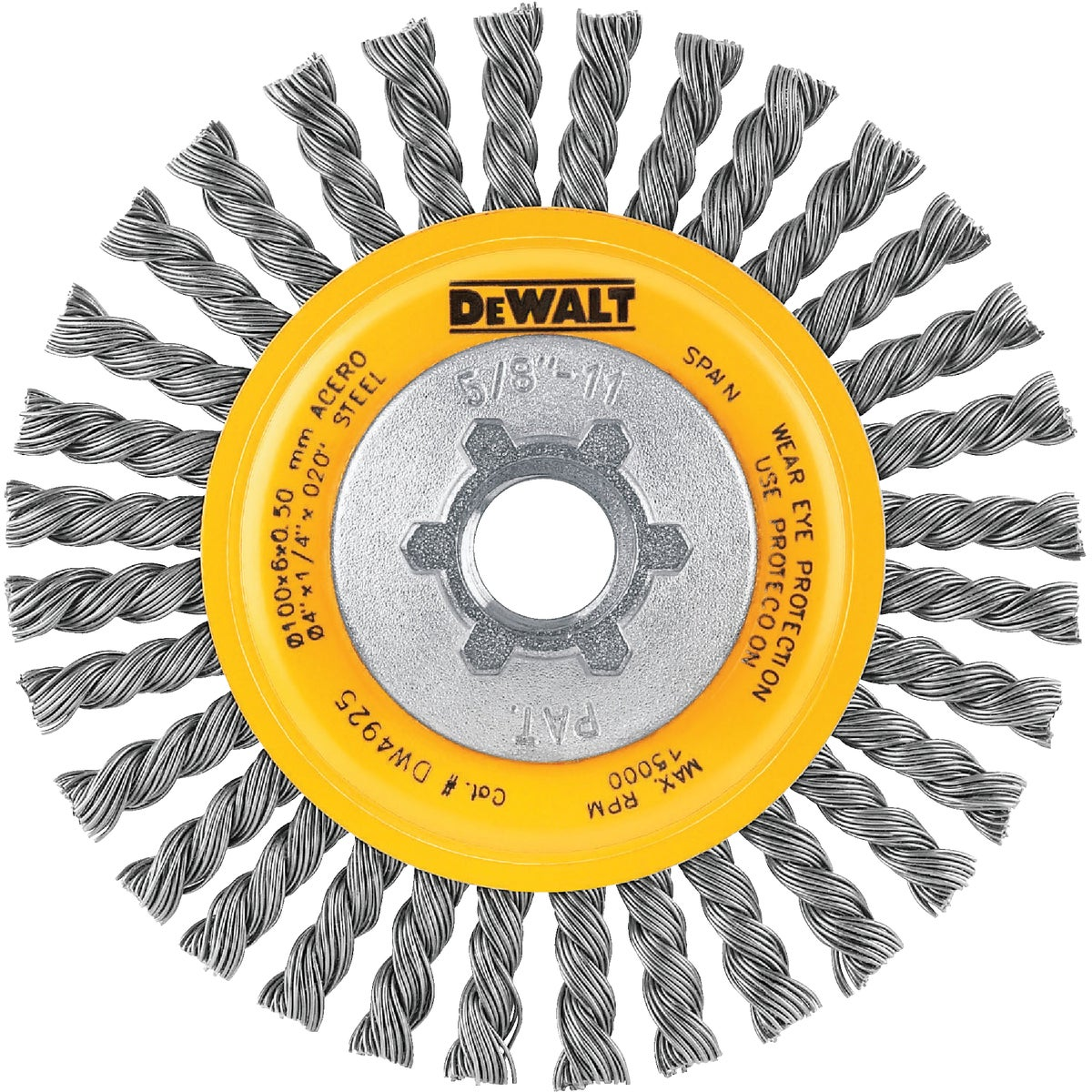 "4"" CD CS STRINGER WHEEL - DW4925 by DeWalt"