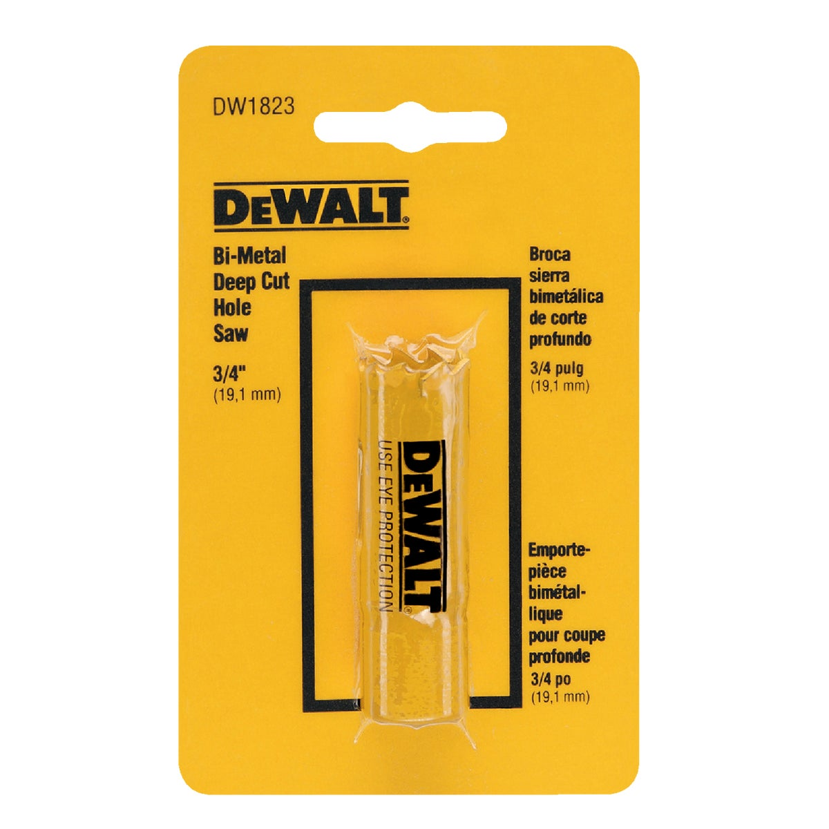 "3/4"" HOLE SAW - D180012 by DeWalt"