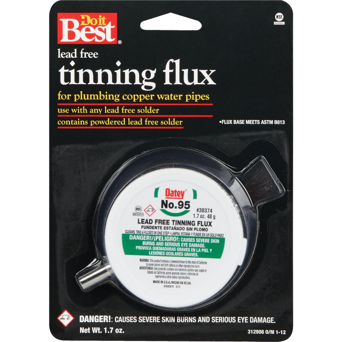 1.7OZ #95 LEAD FREE FLUX