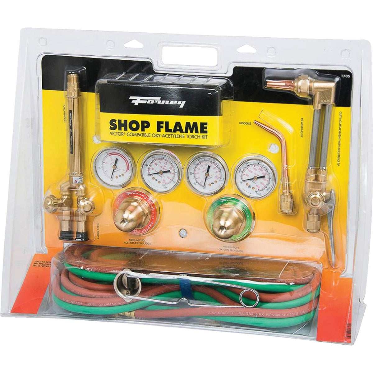 Forney Shop Flame Oxygen Acetylene Torch Kit