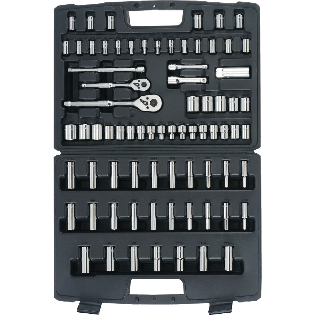 75PC MECHANICS TOOL SET - 96-010 by Stanley Tools