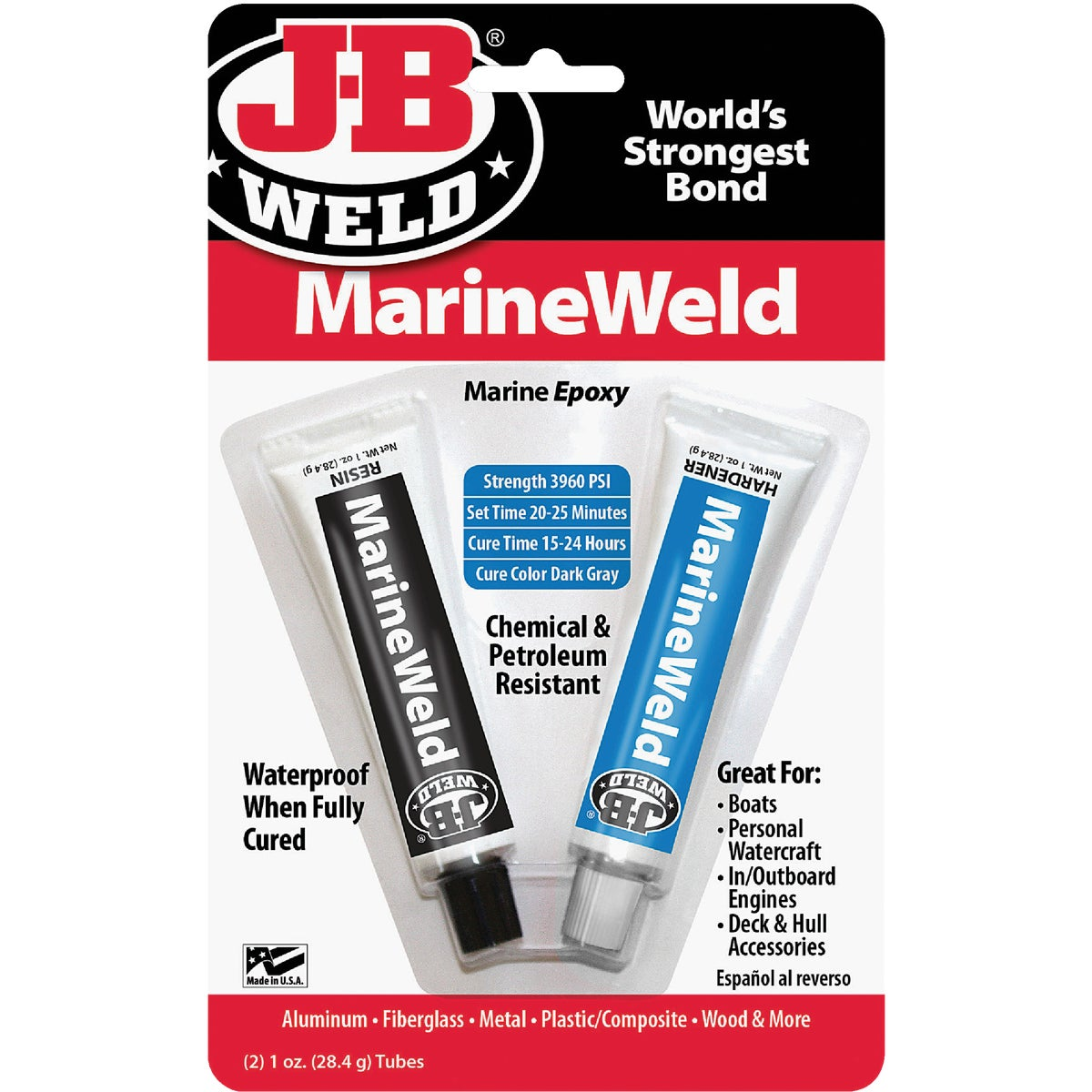 1OZ MARINEWELD EPOXY - 8272 by J B Weld Co