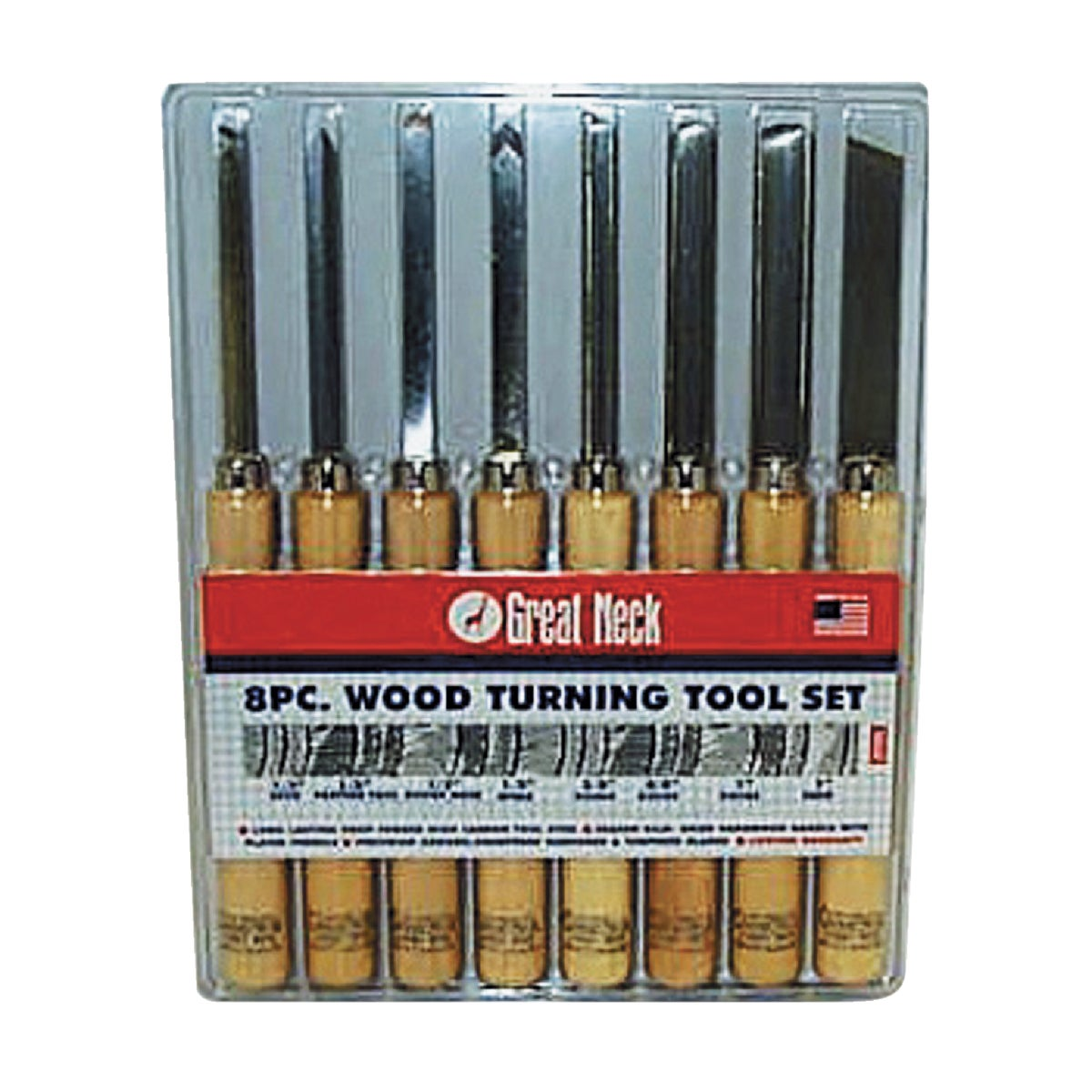 Great Neck WOOD TURNING TOOLS 800