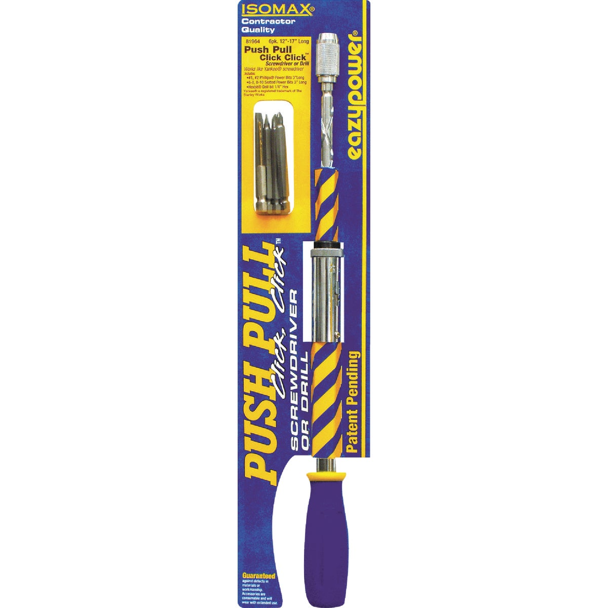 Eazypower Corp SCREWDRIVER/DRILL 81964