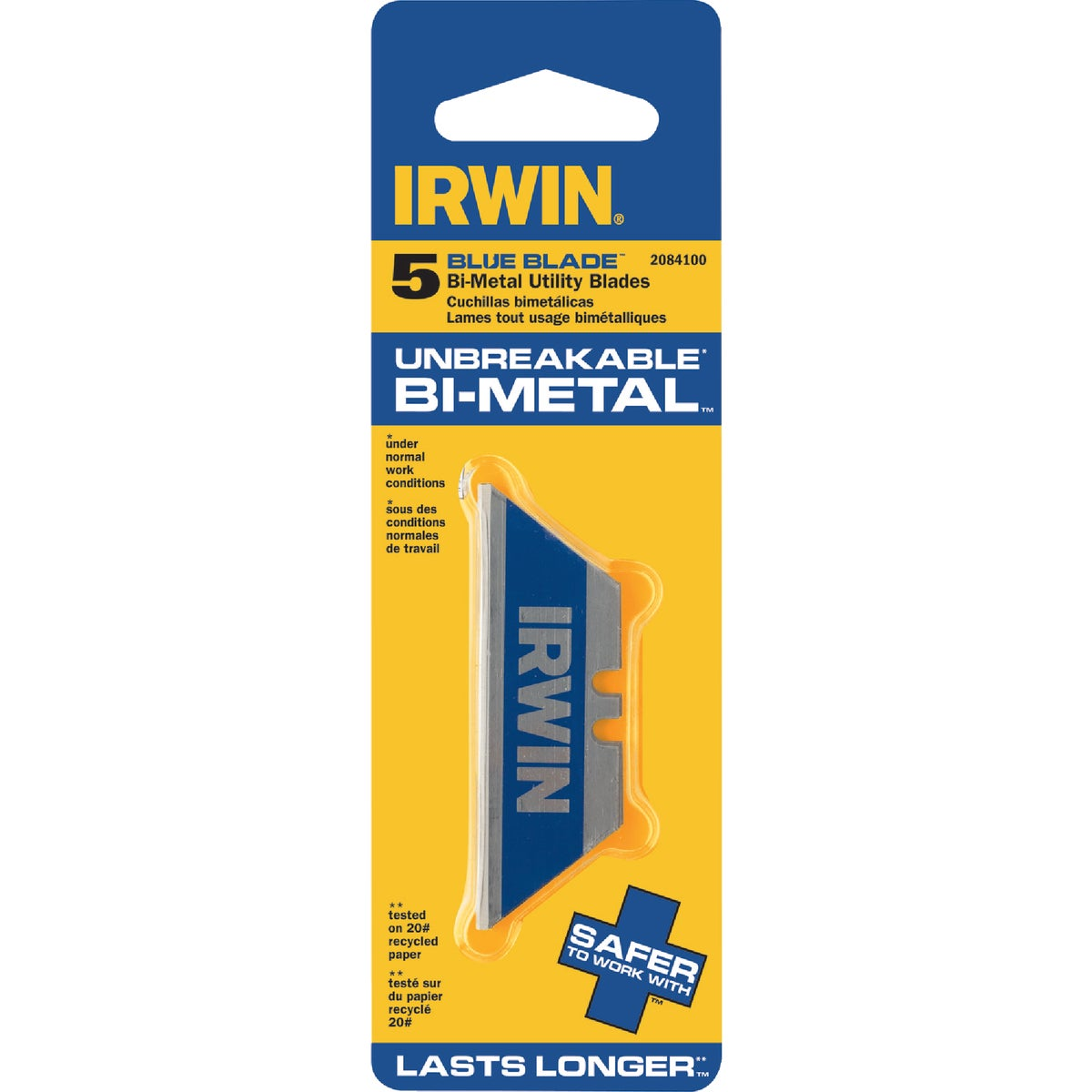 5 PACK BI-METAL BLADE - 2084100 by Irwin Industr Tool