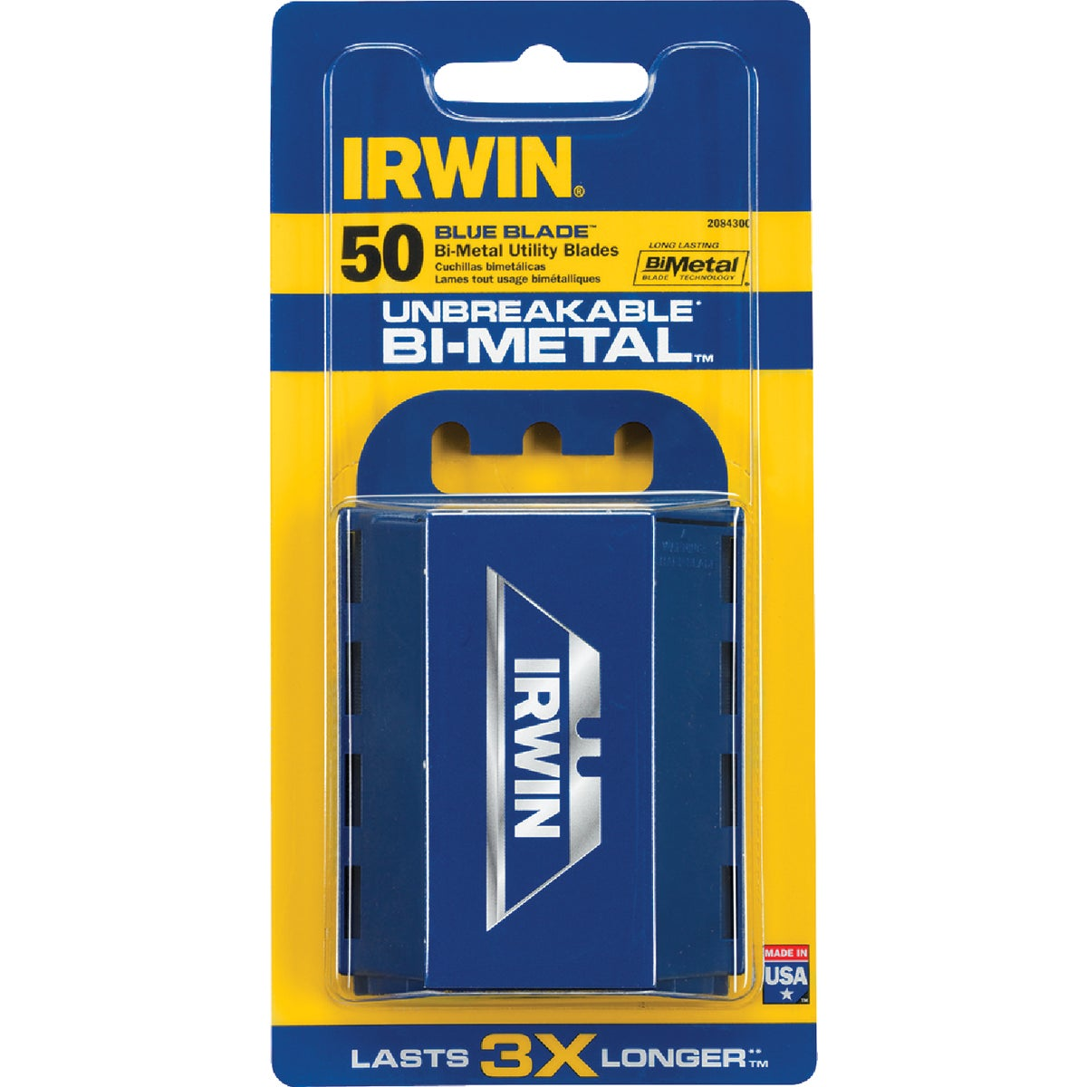 50 PACK BI-METAL BLADE - 2084300 by Irwin Industr Tool
