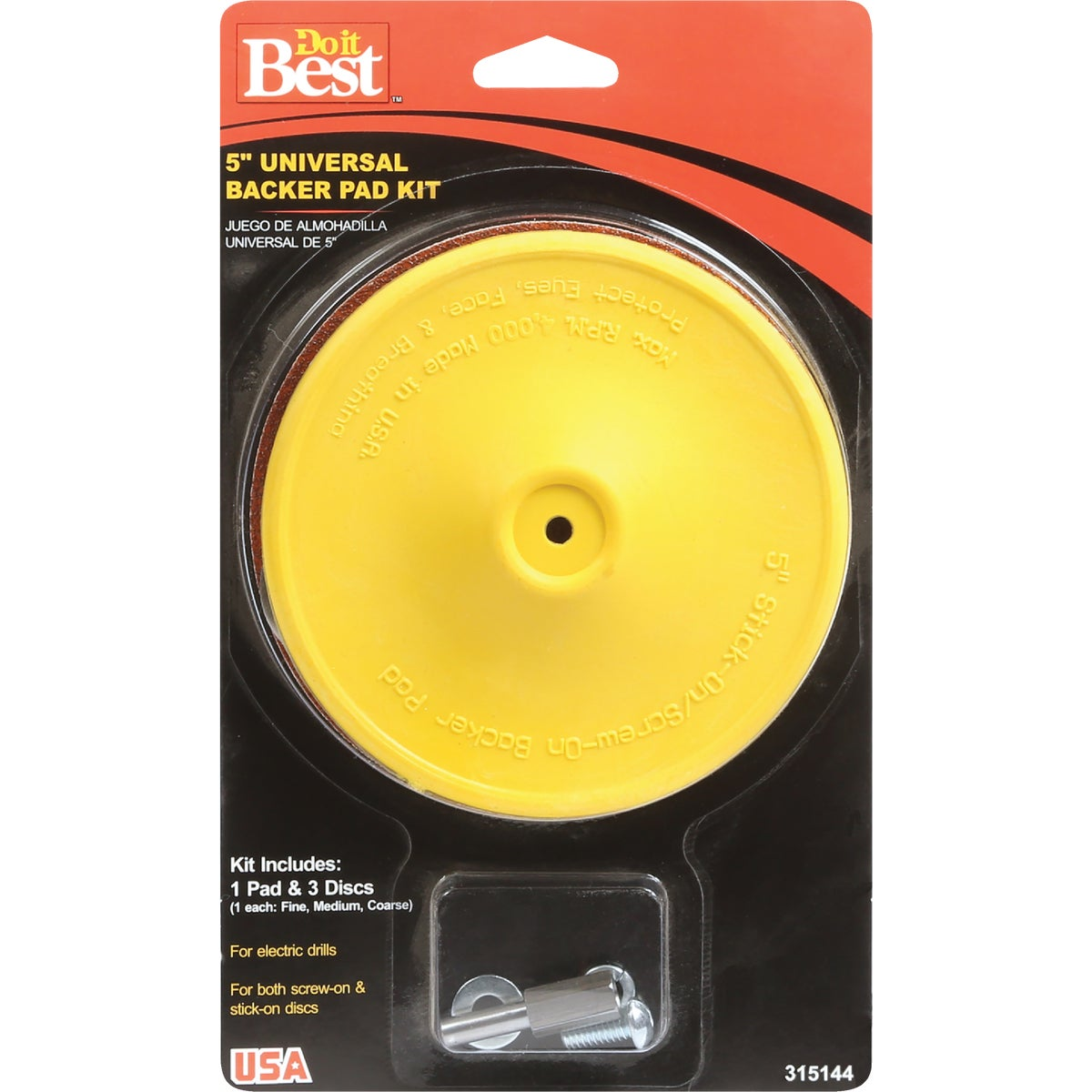 "5"" SANDING DISC KIT - 315144 by Ali Industries Inc"