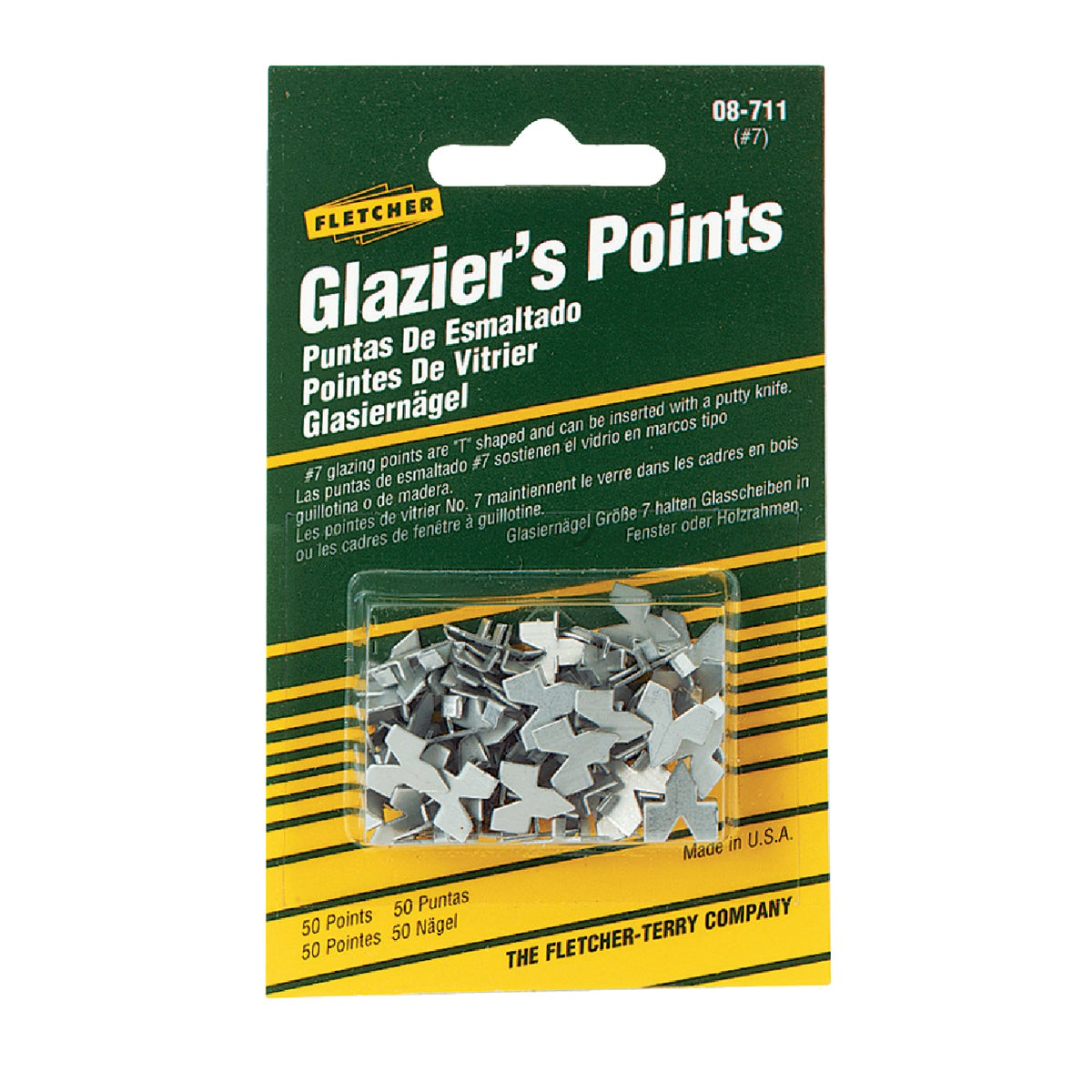 GLAZIER PUSH POINT - 08-711 by Fletcher Terry Co