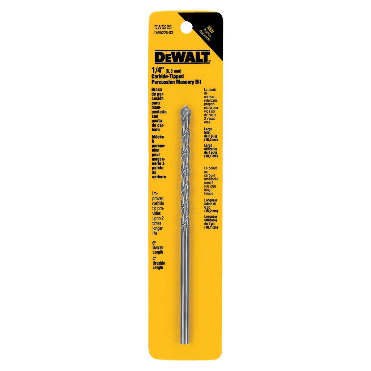 1/4X6 MASONRY DRILL BIT - DW5225 by DeWalt