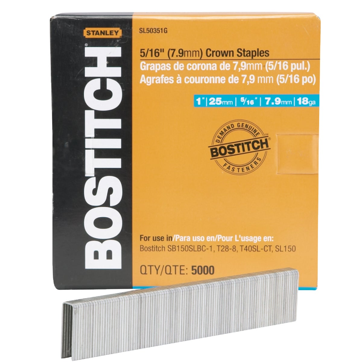 "1"" STAPLE - SL50351G by Stanley Bostitch"
