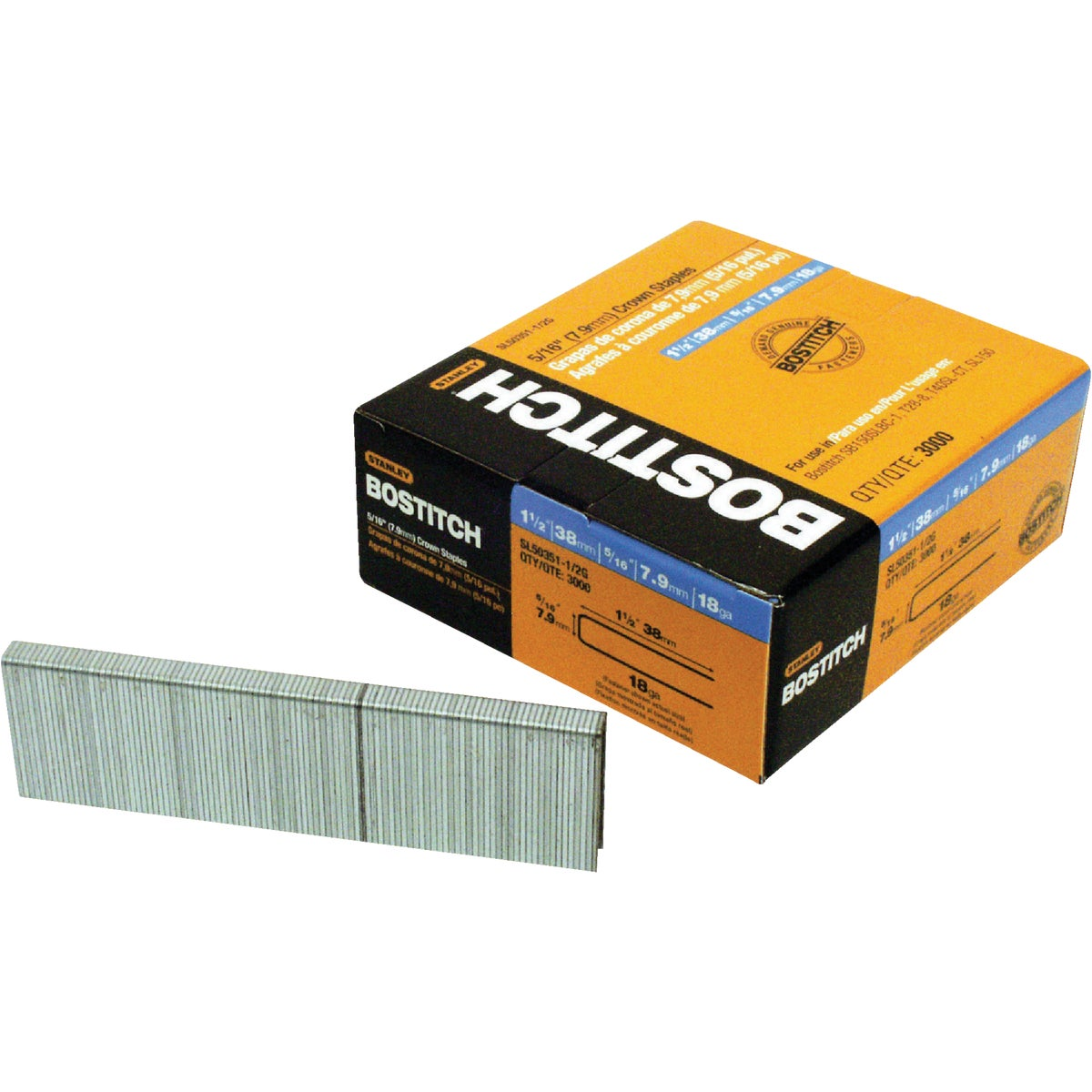"1-1/2"" STAPLE - SL50351-1/2G by Stanley Bostitch"