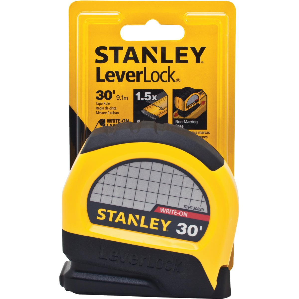 "1""X30' YEL TAPE RULE - STHT30830 by Stanley Tools"