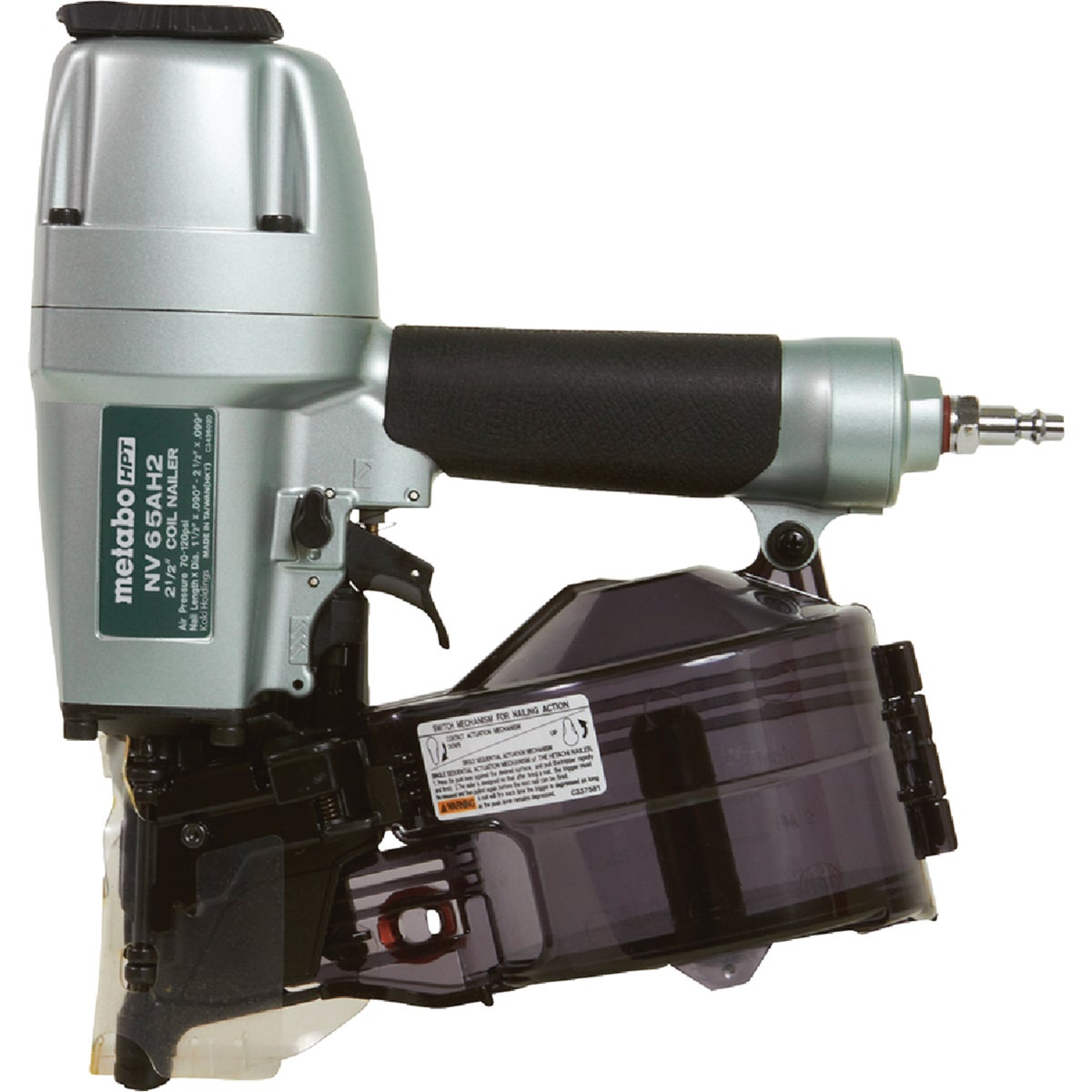 COIL SIDING NAILER - NV65AH by Hitachi Power Tools