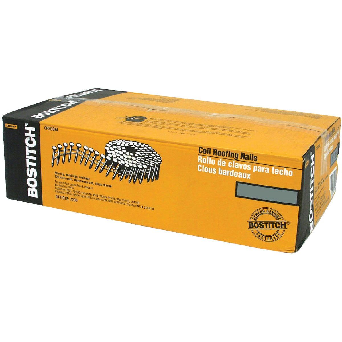 "7/8"" GALV COIL ROOF NAIL - CR2DCGAL by Stanley Bostitch"