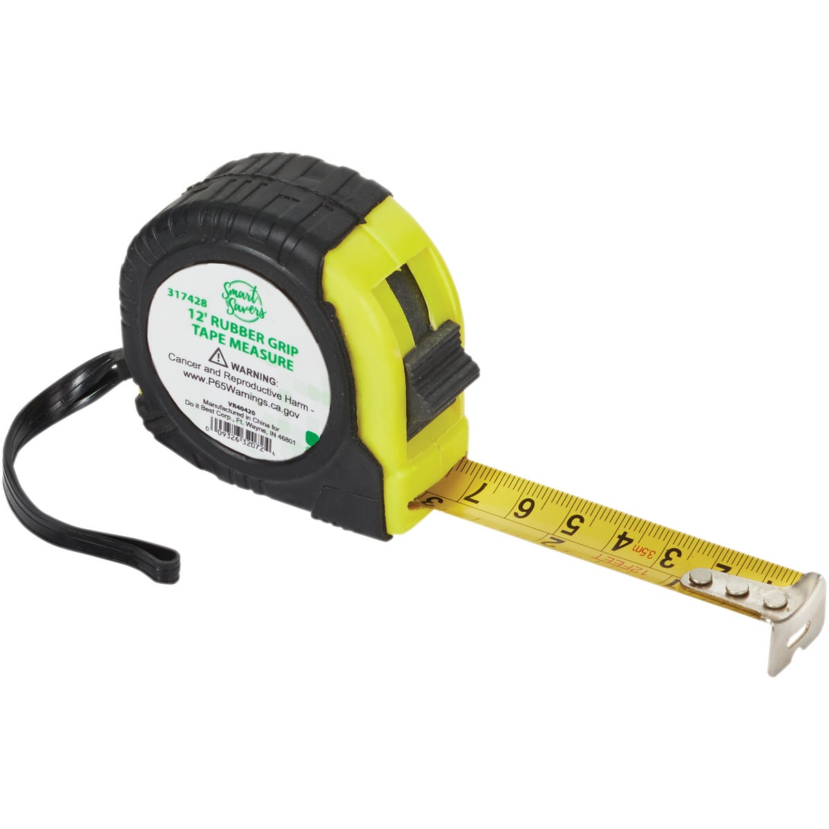 12' RBR GRP TAPE MEASURE - AR064-12(ST) by Do it Best