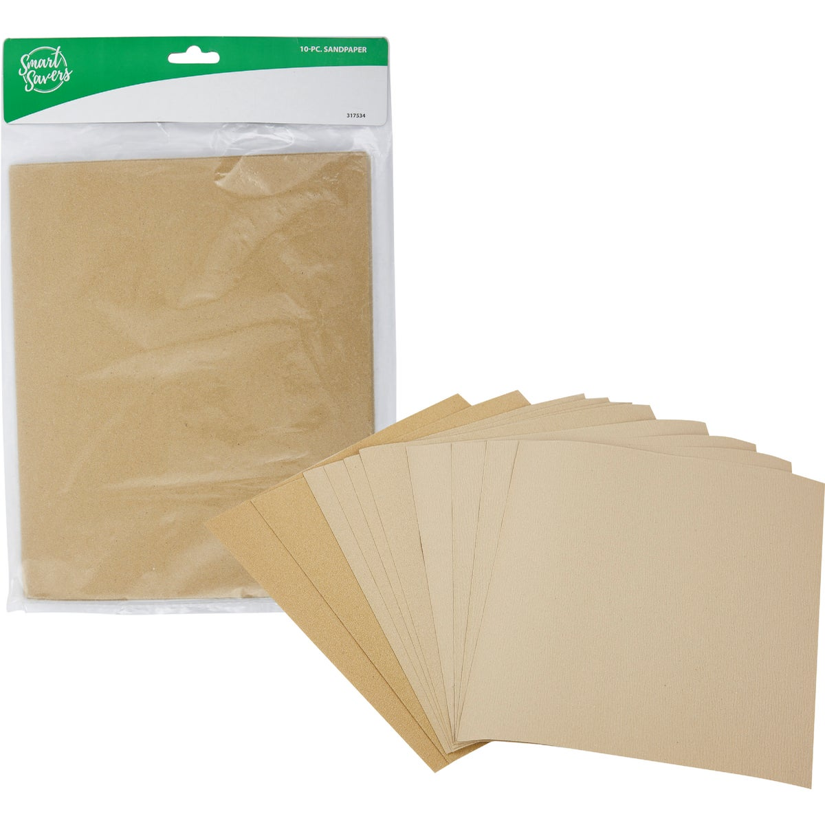10PC SANDPAPER - CC101101 by Do it Best