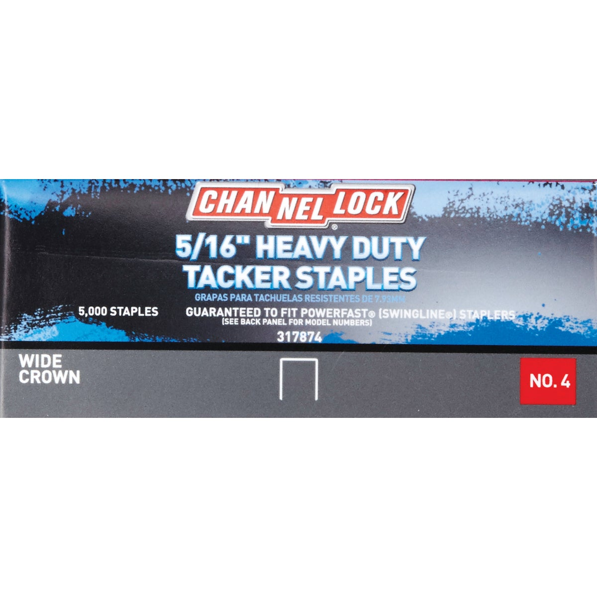 "5/16"" TACKER STAPLES - A115162 by Channellock®"