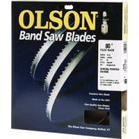 Olson Flex Back Band Saw Blade, 14580