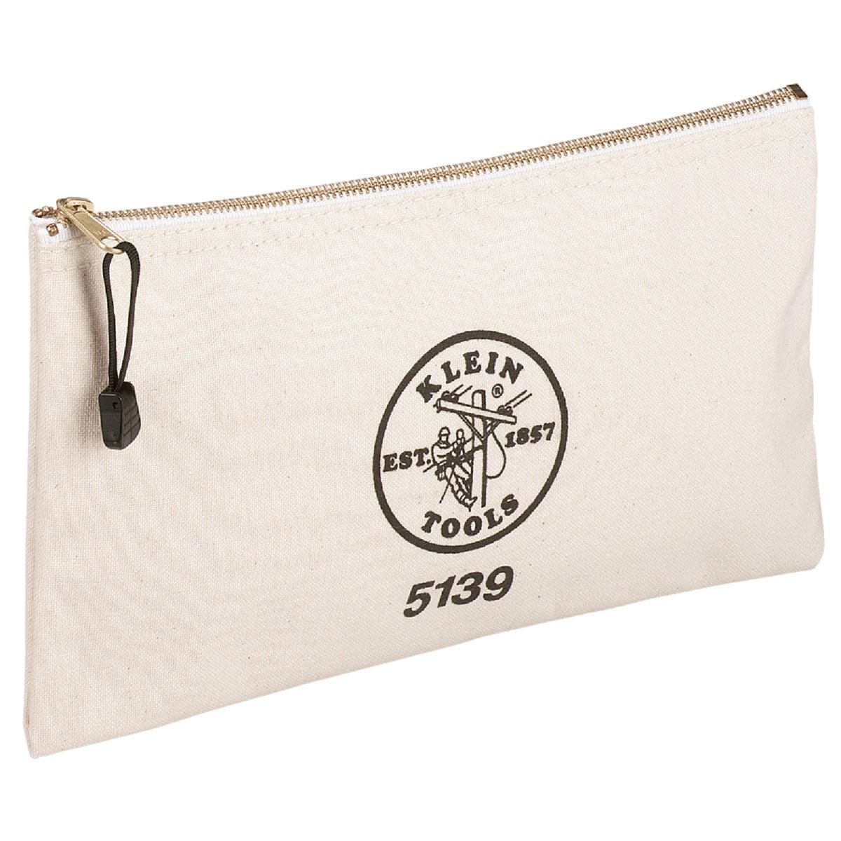 Klein Tools CANVAS ZIPPER BAG 5139